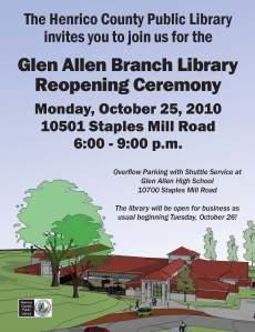 Glen Allen Reopening