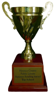 Summer Reading Challenge Trophy