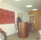 1977 Jan8DUDedication speaker