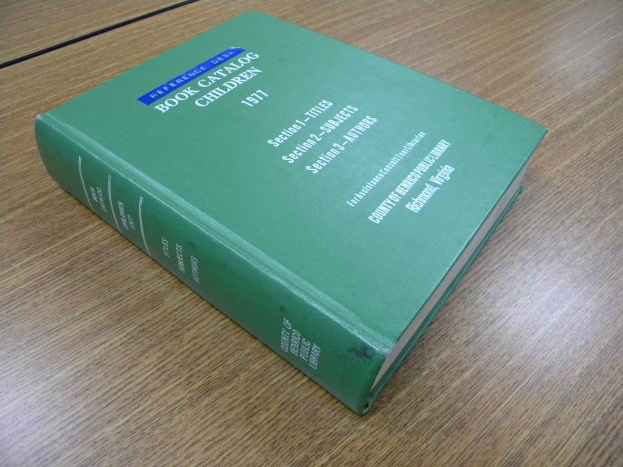 Catalog - book format (1977)