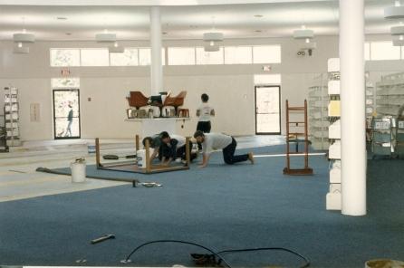 Re-carpeting, 1987
