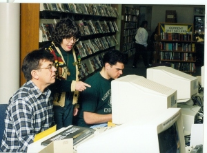 Computer users, 1990s
