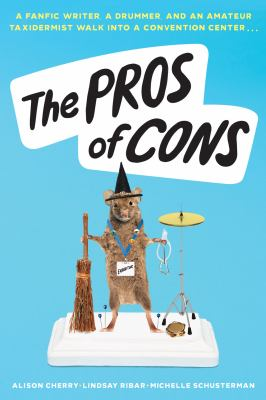 Cover for The Pros of Cons by Alison Cherry