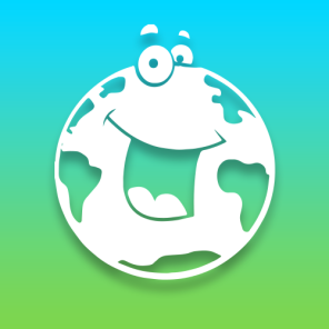 Smiling globe logo for Early World of Learning