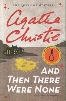 Cover: And Then There Were None by Agatha Christie