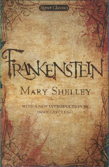 Cover: Frankenstein by Mary Shelley